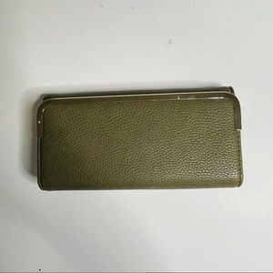 Charming Charlie Green wallet